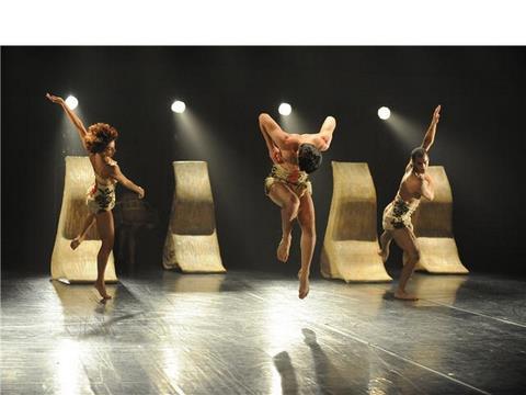 Kibbutz Contemporary Dance Company- 60HZ           , בכורהלהקת המחול הקיבוצית