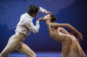 monte carlo ballet nutcracker company,  Artem ovchrenko, Olga Smirnova,photo alice blangero