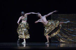 jiri kylian in monaco, chapeau   2 dancers 2016