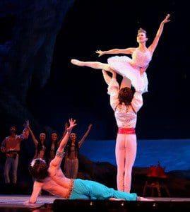 china national ballet, la corseir ,duet 2016