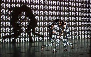 nano art 2 dancers, 2222, eli katz 2016