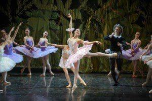 russian ballet D. Kishot white act 2017