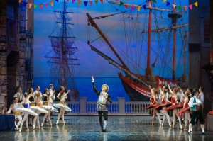 russian ballet D. Kishot with boats 2017